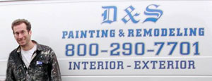 Contact D&S Painting and Remodeling of Raynham MA - interior and exterior painting